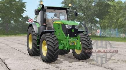 John Deere 6R seriꬴs pour Farming Simulator 2017