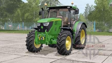 John Deere 6R série〡animated dashboard pour Farming Simulator 2017