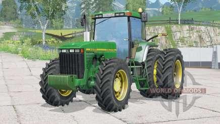 John Deere 8ꜭ00 pour Farming Simulator 2015