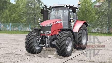 Massey Ferguson 6600 serieʂ für Farming Simulator 2017