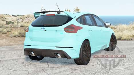 Ford Focus RS (DA3) 2016 pour BeamNG Drive