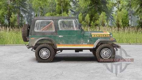 Jeep CJ-7 Renegade pour Spin Tires