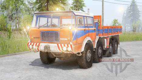 Tatra T813 8x8 pour Spin Tires