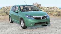 Dacia Sandero Prestige 2008 für BeamNG Drive