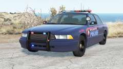 Gavril Grand Marshall Atlanta Police für BeamNG Drive