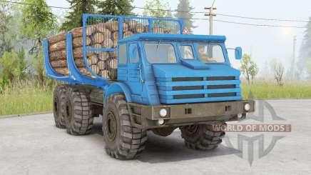 MoAZ-74111 pour Spin Tires