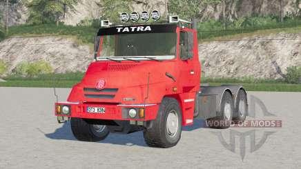 Tatra T163 6x4 Jamal Tractor Truck 1999 pour Farming Simulator 2017