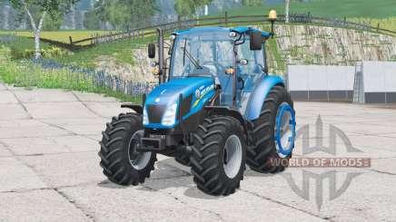 New Holland T4.75〡animierte Türen & Fenster für Farming Simulator 2015