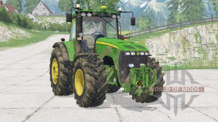 John Deere 8530〡nouveau système d'échappement dynamique pour Farming Simulator 2015
