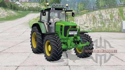 John Deere 7430 Premium〡Lichtleiste für Farming Simulator 2015