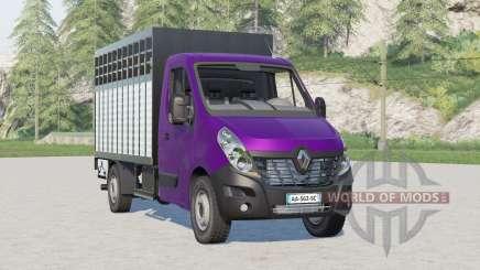 Renault Master Livestock Truck pour Farming Simulator 2017