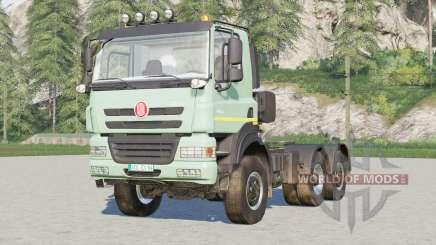 Tatra Phoenix T158 6x6 Tractor Truck 2012 pour Farming Simulator 2017
