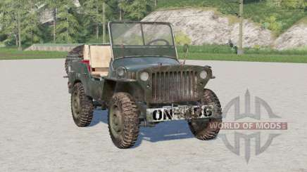 Willys MB pour Farming Simulator 2017
