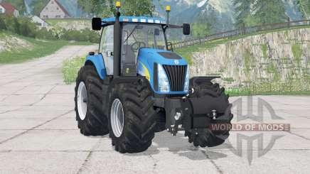 New Holland TG285〡enthält Frontgewicht für Farming Simulator 2015