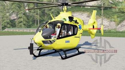 Eurocopter EC145 SAMU für Farming Simulator 2017