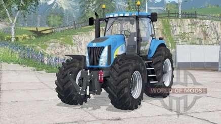 New Holland TG285〡Digitaler Tachometer für Farming Simulator 2015