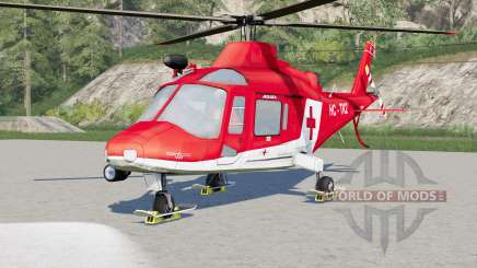 Agusta A.109 K2 Air Ambulance für Farming Simulator 2017