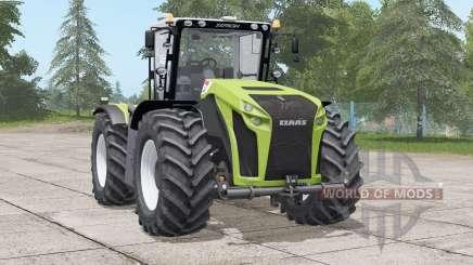 Claas Xerion Trac VC〡neue reifenkonfiguration für Farming Simulator 2017
