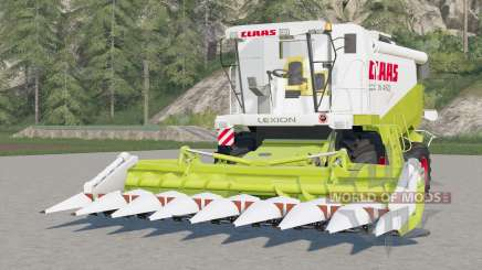 Claas Lexion 460〡working animations pour Farming Simulator 2017