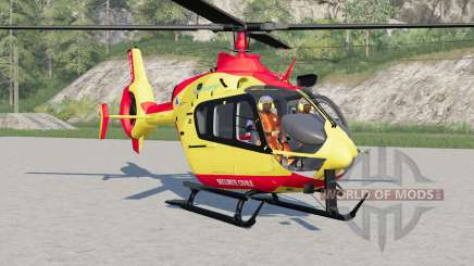 Eurocopter EC145 Securite Civile für Farming Simulator 2017