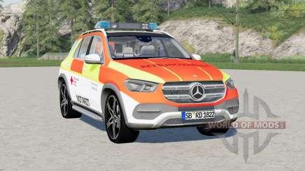Mercedes-Benz GLE 350 (V167) 2019〡Notarzteinsatzfahrzeuge pour Farming Simulator 2017