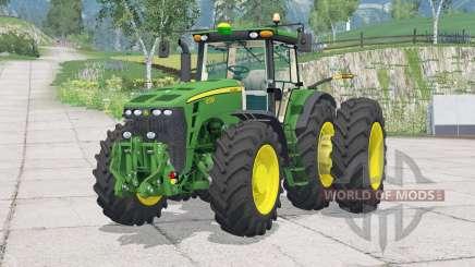 John Deere 8530〡buyable roues jumelées pour Farming Simulator 2015