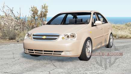 Chevrolet Lacetti Sedan 2006 pour BeamNG Drive