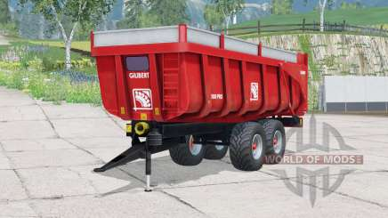 Pneus Gilibert 1800 Pro〡Trelleborg pour Farming Simulator 2015
