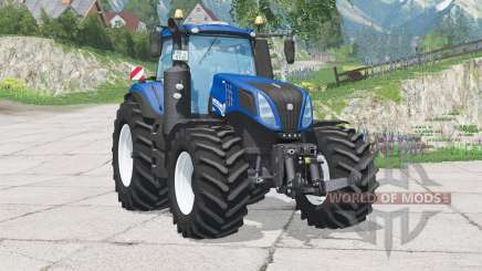 New Holland T8.420〡dynamischer Rauch für Farming Simulator 2015