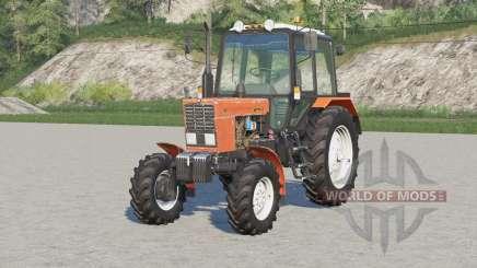 MTZ-82.1 Biélorussie〡configuration des modifications pour Farming Simulator 2017