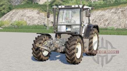 Fendt F 380 GTA Turbo avec leviers à l'animaux pour Farming Simulator 2017