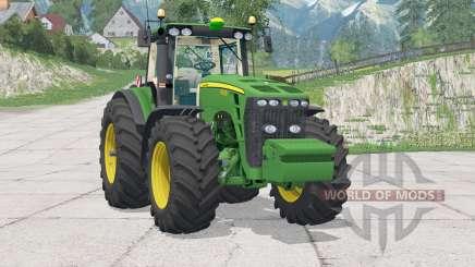 John Deere 8530〡résique fixe de la conduite pour Farming Simulator 2015