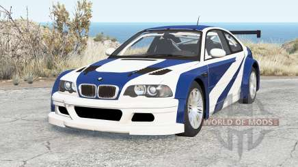 BMW M3 GTR (E46) Most Wanted pour BeamNG Drive