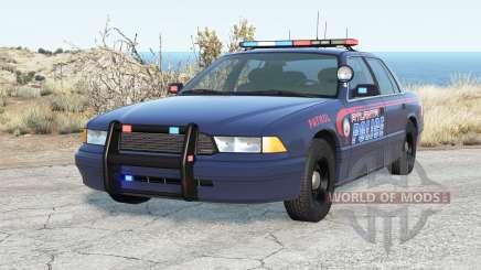 Gavril Grand Marshall Atlanta Police pour BeamNG Drive