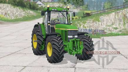 John Deere 7810〡neue dynamische Absauganlage für Farming Simulator 2015