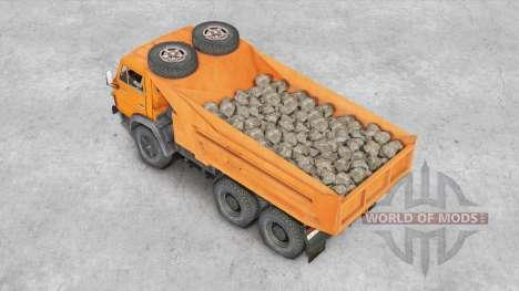 KamAZ-5511 v1.1 pour Spin Tires
