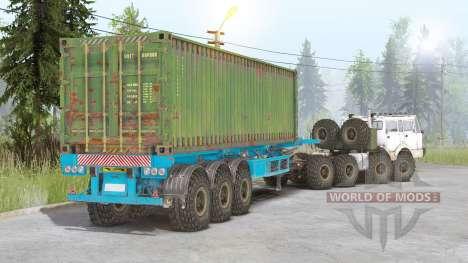 Tatra T813 8x8 v2.0 pour Spin Tires