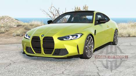 BMW M4 Competition (G82) 2020 v1.2 pour BeamNG Drive