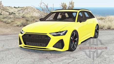 Audi RS 6 Avant (C8) 2019 v2.2 pour BeamNG Drive