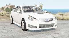 Subaru Legacy B4 (BM) 2009 für BeamNG Drive
