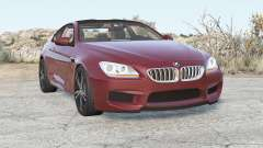 BMW M6 coupe (F13) 2012 für BeamNG Drive