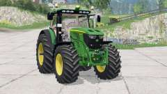 John Deere 6210R〡instrumentpanel belysning für Farming Simulator 2015