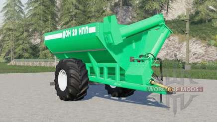 Don-20 NPP 41214 Farben zur Auswahl für Farming Simulator 2017