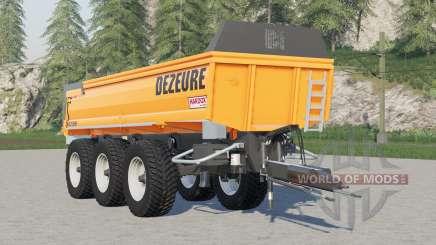 Dezeure TPX 36S für Farming Simulator 2017
