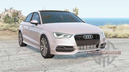 Audi S3 Sedan (8V) 2013 pour BeamNG Drive