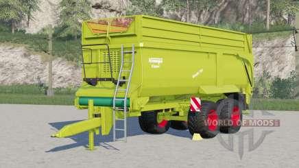 Krampe Bandit 750〡neue Reifen hinzugefügt für Farming Simulator 2017