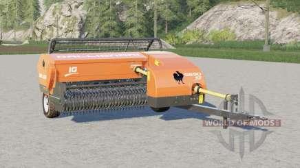 Gallignani 5690 S3〡mesmesall square baler pour Farming Simulator 2017