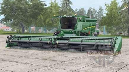 John Deere S690i〡nouvelle peau de saleté pour Farming Simulator 2017