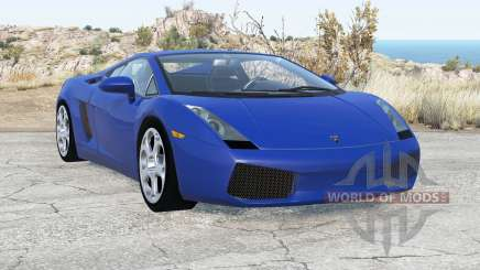 Lamborghini Gallardo 2005 v2.1 für BeamNG Drive