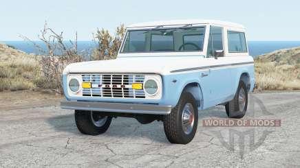 Ford Bronco Wagon 1975 für BeamNG Drive